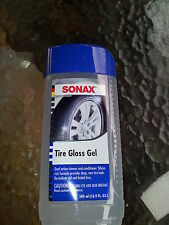 SONAX TYRE GLOSS GEL 500ML SILICONE BASED CLEANER CONDITIONER & TYRE REJUVINATOR