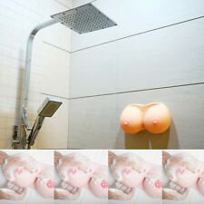 Sexy Breast Shaped Shower Soap Shampoo Gel Dispenser Bathroom Accessery =