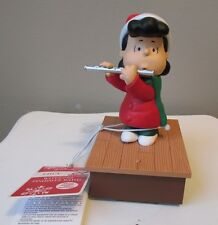Snoopy Christmas Hallmark Wireless Band Display Lucy Flute Peanuts Music Motion