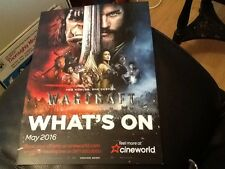 CINEWORLD CINEMA WHATS ON A4 TWO PAGE . ADVERTISING GIVEAWAY . GREAT CONDITION