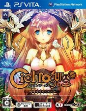 USED PS VITA Ciel nosurge FREE SHIPPING GASTO Japan Import Play station Game F/S