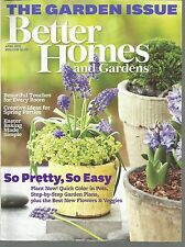 Better Homes and Gardens April 2012 Easter Baking/Spring Parties/Garden Plans