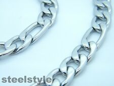 CHUNKY LINK CHAIN  NECKLACE STAINESS STEEL 316L MEN'S JEWELLERY NECKLACE 01