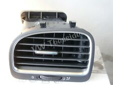 Genuine VW MK6 Golf Cabriolet Left hand Fresh Air Vent, Black/Chrome 5K0819703K