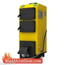 WB 24KW Multi Fuel Boiler use in central heating burn wood coal garden waste