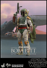 Hot Toys MMS Star Wars Return of the Jedi Boba Fett 1/6 Scale Sideshow USA