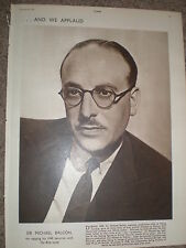 Photo article Ealing Film Studio boss Sir Michael Balcon 1950