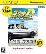 USED PS3 Initial D Extreme Stage the Best  SEGA GAMES Japan ver