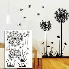 Cute Removable Flying Room Wall Stickers Dandelion Art Mural Decal Home Decor