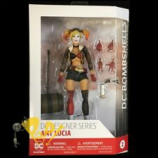 "DC COMICS Bombshells HARLEY QUINN 6.75"" Action Figure Ant Lucia FREE SHIPPING!"