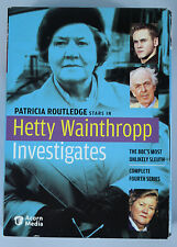 Hetty Wainthropp Investigates Complete Fourth Series 3 DVD Box Set EUC