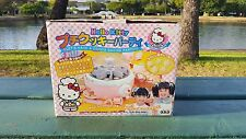 Hello Kitty Let's Have A Cookie Baking Party Japanese Japan Machine Maker