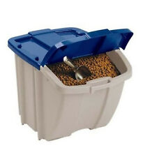 Food Storage Bin 50 Lbs Dog Pet Cat Animal 72 Quart Capacity Feeding Container