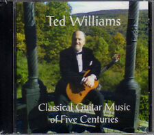 Ted Williams - Classical Guitar Music Of Five Centuries  CD-R [CD New]