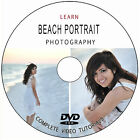 LEARN BEACH PORTRAIT DIGITAL PHOTOGRAPHY CAMERA TRAINING TUTORIALS GUIDE ON DVD