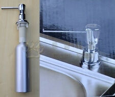New Aluminum Construction Deck Mounted Kitchen Sink Soap Dispenser