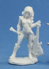 ASTRID, FEMALE BARD - Reaper Dark Heaven Bones -Miniature 77078