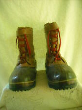 SOREL KAUFMAN CABELA'S LEATHER WINTER SNOW HUNTING BOOTS & LINERS MEN'S 14