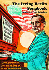THE IRVING BERLIN SONGBOOK for Fingerstyle Guitar VIDEO DVD by FRED SOKOLOW