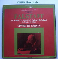 LO 14.3 - VERDI - Falstaff DE SABATA / STABILE / SILVERI- Ex 3 LP Record Box Set
