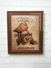 WDW Disney Pixar Cars PIRATES OF THE CARIBBEAN TOW MATER Attraction Poster Pin
