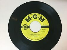 COUNTRY 45 RPM  RECORD - HANK WILLIAMS - M-G-M K10904