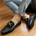 New Men's Comfort Leather Casual Slip On Loafers Moccasins Driving Shoes Flats