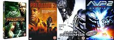 PREDATOR Quadrilogy DVD Complete Collection Box Set 1+2+3+4 ALIEN REQUIEM