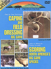 Caping and Field Dressing Big Game/Scoring North America's Big Game Species-DVD
