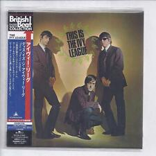 This Is The IVY LEAGUE +10/ JAPAN mini lp cd papersleeve piccadilly BVCM-37942