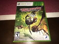 Earth Defense Force: Insect Armageddon (Microsoft Xbox 360, 2011) Complete