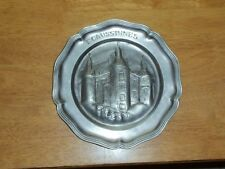 Antique French Pewter Etain d'Art ECAUSSINNES Candy Dish Coaster Ashtray