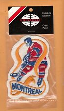 OLD MONTREAL CANADIENS PLAYER JERSEY PATCH Unsold Stock