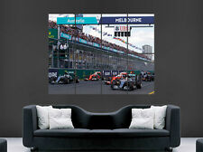 F1 POSTER  GP RACE FORMULA ONE GIANT SPEED RACING WALL ART PICTURE PRINT LARGE