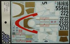 DECALS F'ARTEFICE FE-0102 1/20 LOTUS 72C 1970