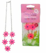 Daisy Chain Hanging Car Air Freshener Floral Bouquet Scent Home Flower Freshener