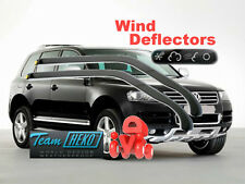 VW Touareg  2003-2010 WIND DEFLECTORS 2 pcs (31147) for front door