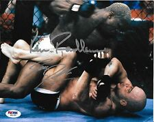 Kevin Randleman & Bas Rutten Signed UFC 20 8x10 Photo PSA/DNA COA Picture Auto'd