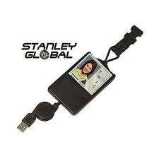 STANLEY GLOBAL SGT119X CAC SMART CARD ID HOLDER WITH RETRACTABLE USB CONNECTOR