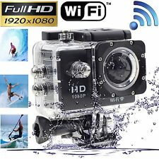 Wifi 12MP HD 1080P Car Bike Helmet Cam Sport DV Action Waterproof Camera SJ4000@