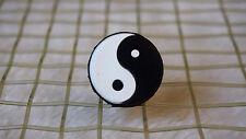 kiTki white Tai Chi yin yang tennis racquet vibration dampener shock absorber