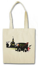 M-TEAM VAN HIPSTER TOTE BAG Scooby Mystery Doo Team TV A-Team Stofftasche Tasche