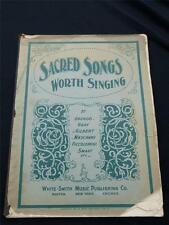 Antique Sheet Music - Sacred Songs Worth Singing, Gounud/Piccolomini/Gray, 1901