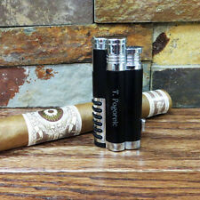 Butane Cyclone Cigar Lighter Personalized - Groomsmen gift - Golf gift - Gifts f