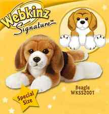 Ganz Webkinz Signature Lying Beagle WKSS2001 new w/ sealed, unused code. NWT