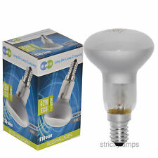 E14 Edison Ses Light Bulb R50 Reflector Halogen Energy Saving 60 Watt Pack Of 10