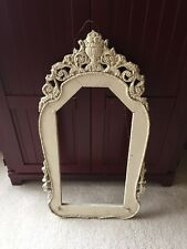 Vintage Victorian Style Ornate Carved Wood Picture/Mirror Frame
