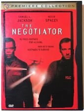 The Negotiator DVD, 1998 Samuel L. Jackson, Kevin Spacey - Premiere Collection