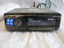 Alpine CDA-9855 CD Player In Dash Receiver 4 Channel x 50 Watt