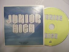 JUNIOR HIGH Self Titled Album – 2012 Europe CD PROMO – Synth-Pop - BARGAIN